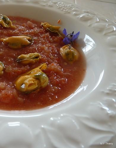 gaspacho aux moules