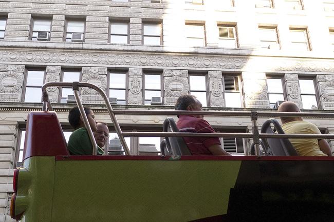Flatiron tourbus, nyc