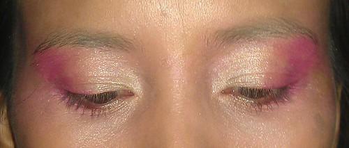 London Olympics Torch makeup look
