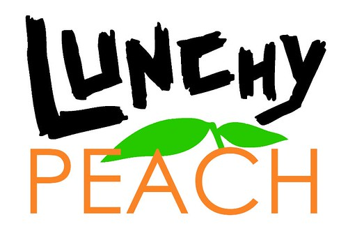 Lunchy Peach logo by Tim Anderson