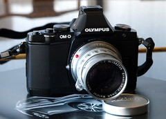 OM-D with Summicron Lens