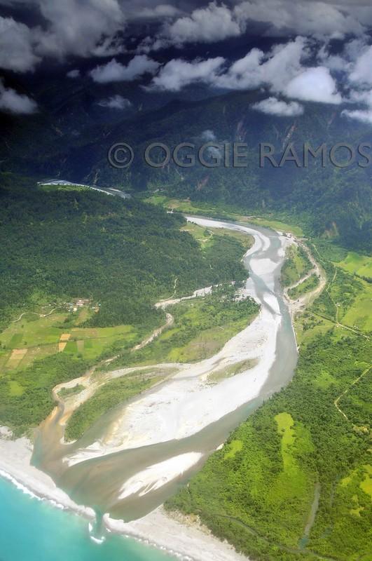 Maconacon Dinakayan River Aerial View