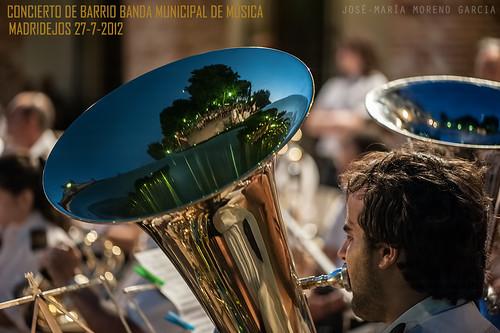 CONCIERTO DE BARRIO 2012 . BANDA MUNICIPAL DE MÚSICA DE MADRIDEJOS by José-María Moreno García = FOTÓGRAFO HUMANISTA