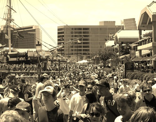 Inner Harbor - Sailabration crowd - HSS!