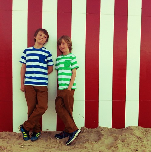 Jack & Lewis, Weymouth beach