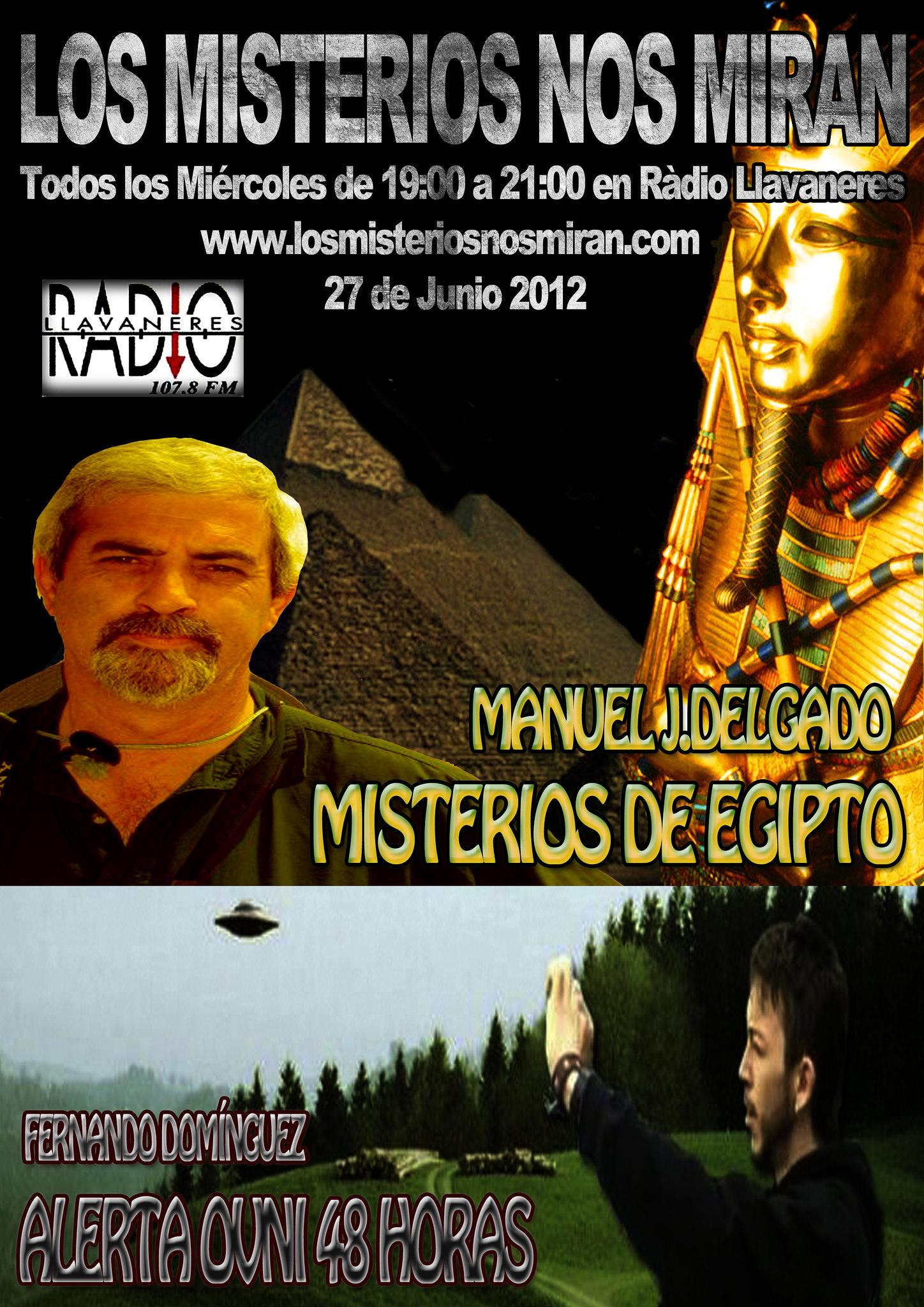 Programa 33: Misterios de Egipto y Alerta Ovni 1