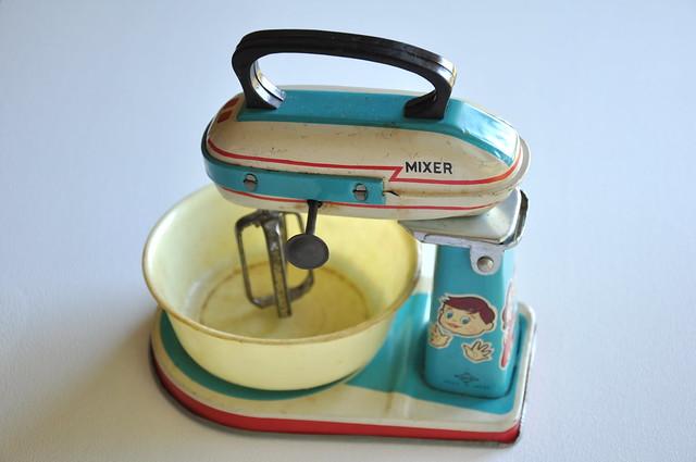 Vintage Mixer Toy