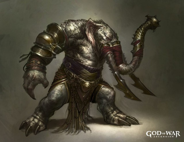 Elephantaur - God of War: Ascension para PS3