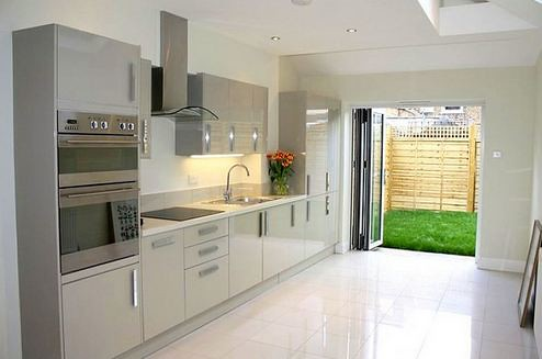 Kitchen extension leading to backyard flickr photo for Extension to kitchen ideas