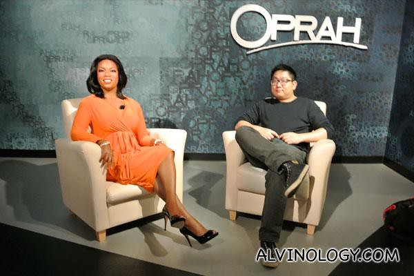 Me with Oprah Winfrey