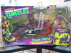 Nickelodeon  TEENAGE MUTANT NINJA TURTLES :: DRAGON CHOPPER i (( 2012 ))