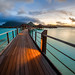 Bora Bora Sunset by ShutterRunner
