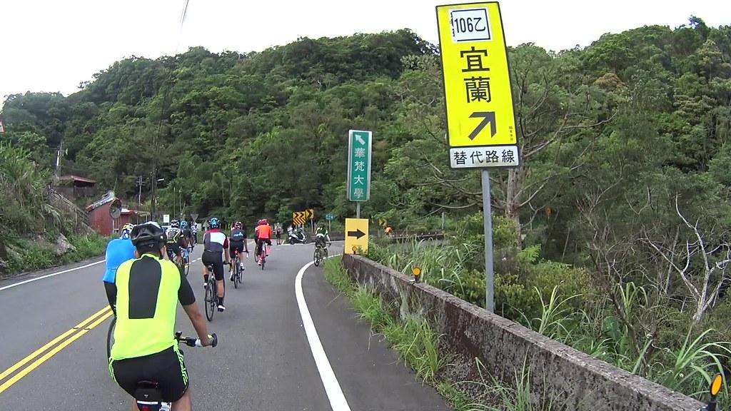 PingXi climbing hills.