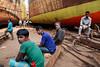 Shipyard workers - Dhaka, Bangladesh