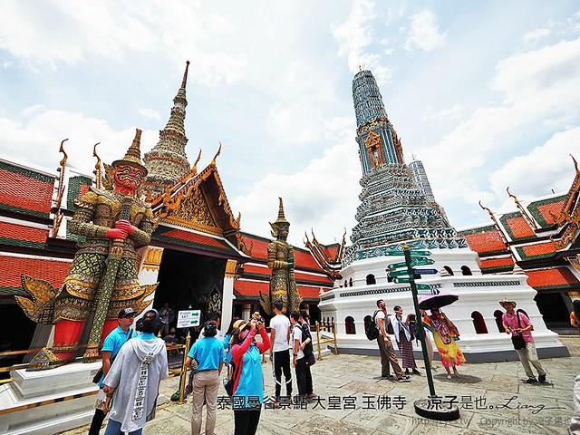 泰國曼谷景點 大皇宮 玉佛寺 21
