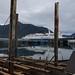 Alaska Marine Highway Ferry docked in shallow harbor of Petersburg Alaska by Pilgrim Traveler