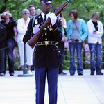 Soldier turning - Tomb of the Unknown Soldier - Arlington National Cemetery - 2012