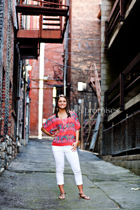 Nashville Urban Senior Photography