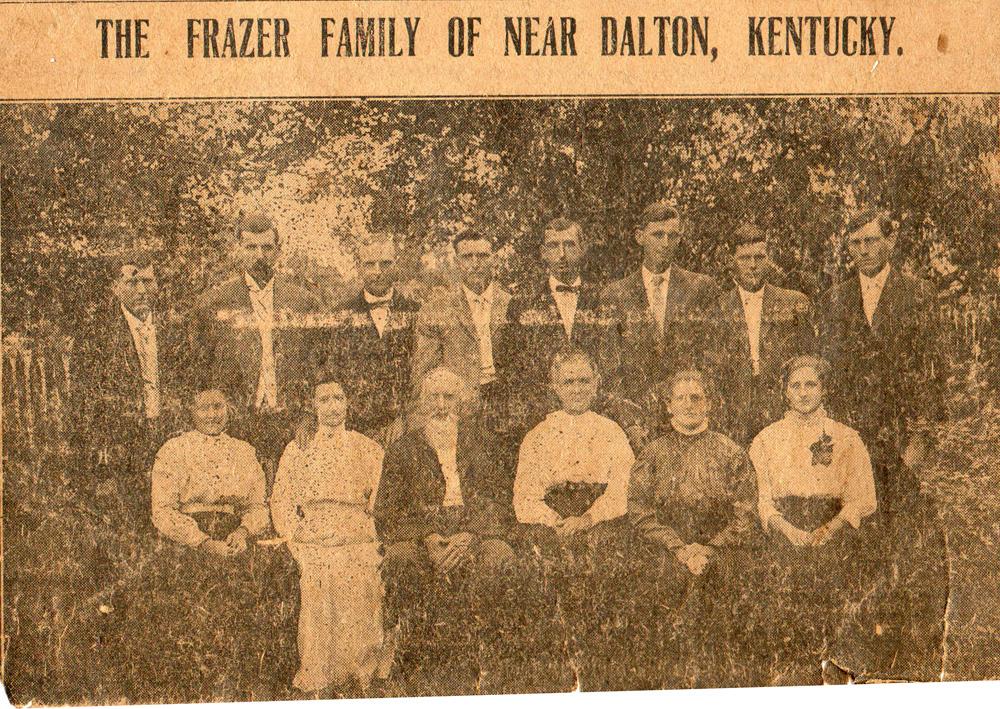 Frazer Family 1909
