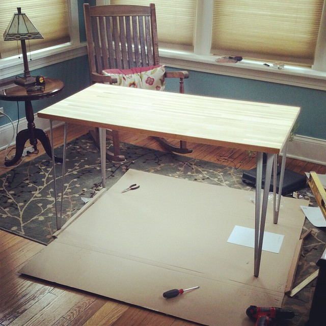 Solid wood desk - Step 6: Enjoy!