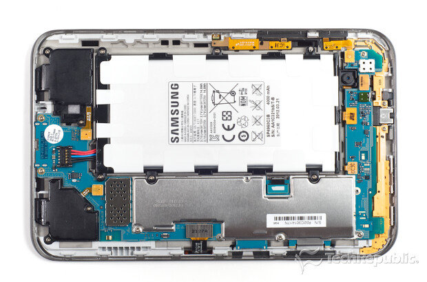 "Samsung Galaxy Tab 2.0 7"" Ouverte"