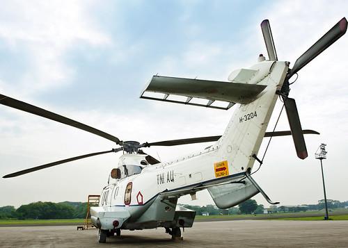 Heli Super Puma utk RI 1, dan RI2 serta Tamu Negara
