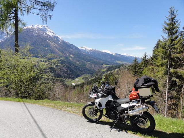 BMW F800GS in Carinthia AT