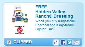Kingsford Charcoal And Kingsford Lighter Fluid  Coupon