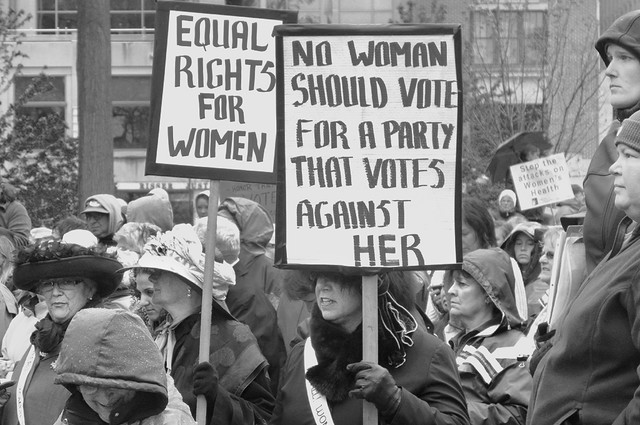 No Woman Should Vote for a Party That Votes Against Her