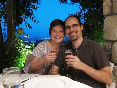 us at dinner @ Shiri Bistro