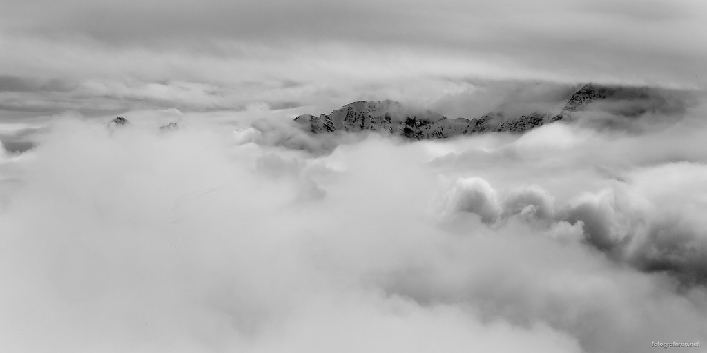 Heavy clouds, Laax (Switzerland).