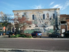 Flood of 1993 Mural in Boonville, MO