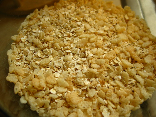 Granola Bars - dry mixture