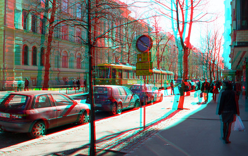 1st of May in Helsinki, 3D