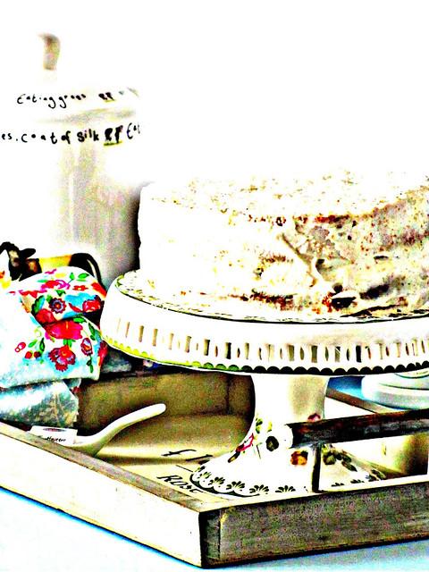 Coconut Cake con Cheese Frosting Alleggerito