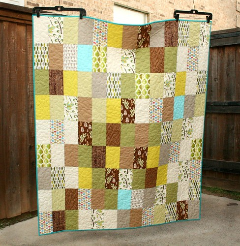 earthy quilt