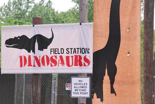 Dino - entrance