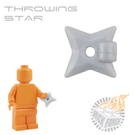 Throwing Star - Silver