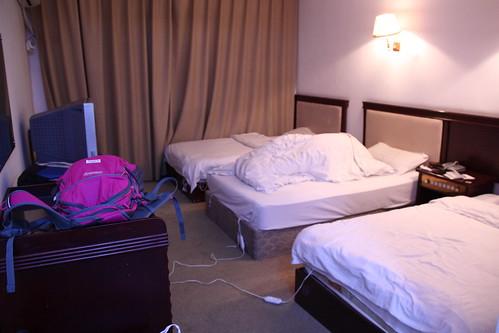 Dirty room