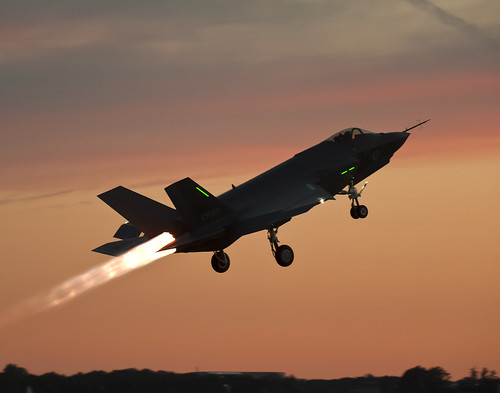 First F-35C Night Flight