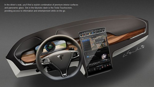 Tesla Motors - Model X Interior