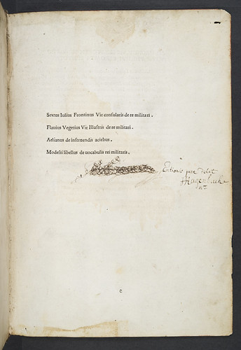 Title-page of Scriptores rei militaris