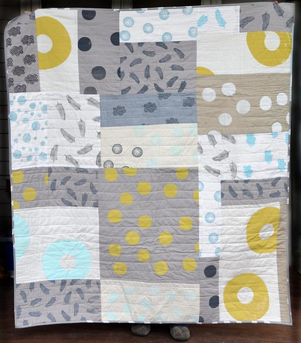 misprint improvisational quilt