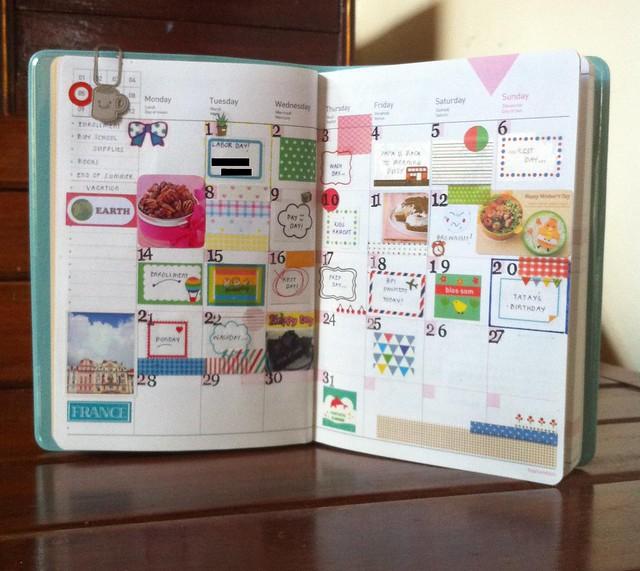 毎日を充実させるために手帳に工夫を♡手帳の書き方お教えします