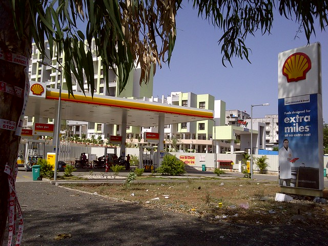 Shell Petrol Pump Warje - Sneha Corp's Homes, 1 BHK & 2 BHK Flats, near Meghvarsha, at Warje, Pune 411052 is behind this!