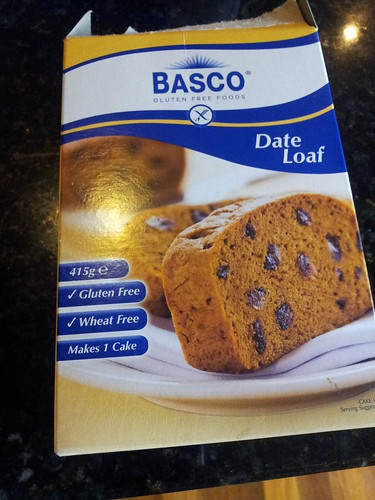Basco gluten free date loaf
