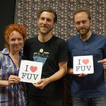 Wed, 30/05/2012 - 11:58am - Great Lake Swimmers perform live in WFUV's Studio A. photo by Erica Talbott