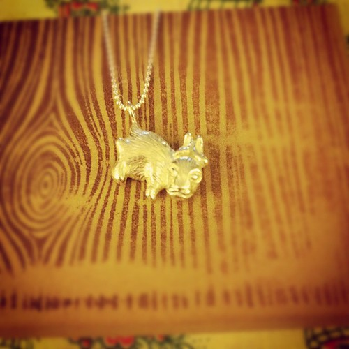 Baby bunny charm that I love - thank you @cuylerhk !
