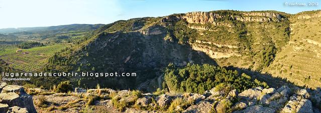Barranco del Palancia (Jérica, Castellón)