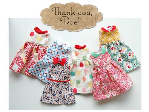 Thank you, Doe!